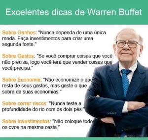 dica de Warren Buffet