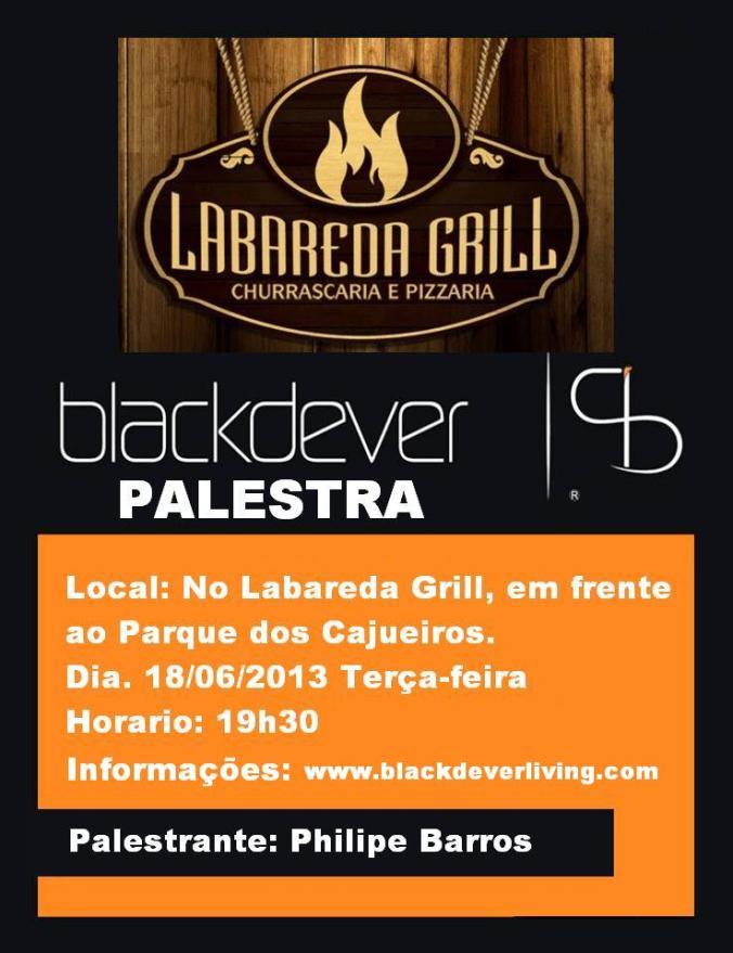 Palestra Blackdever em Aracaju